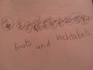 Fruts and Vechtabels.