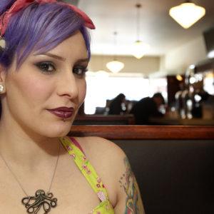 Lakeview Diner 50's Style Shoot - MUA/Hair/Model: Rashelle - Photo: Brian Reiser