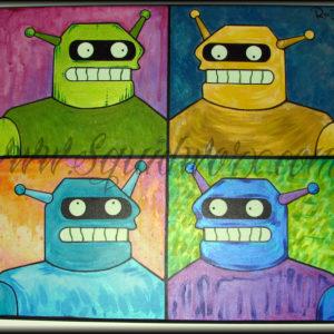 Futurama Fan Art Show 2010 - Calculon