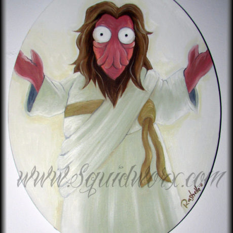 Futurama Fan Art Show 2010 - Jesus, Zoidberg!