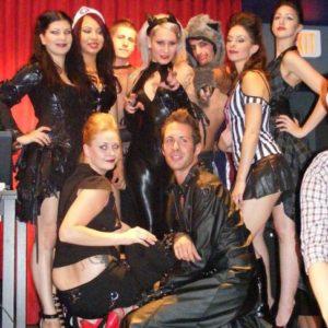 Hair & MUA: Rashelle Squidworx Clothing: Lip Service DUSK Queen-West Halloween 2011 Fashion Show