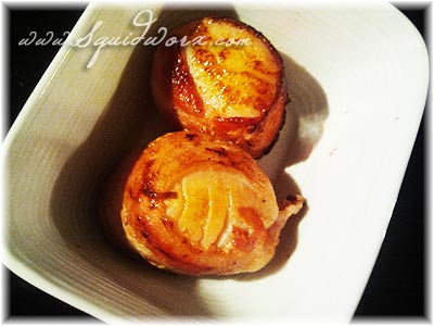 Chili Infused Bacon Wrapped Scallops Recipes — Dishmaps