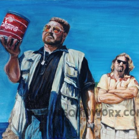 Fan Art inspired by The Big Lebowski