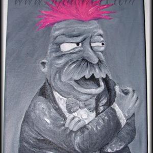 Futurama Fan Art Show 2007 - Buyer's Remorse (aka Scruffy the Janitor)